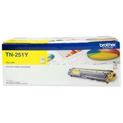BROTHER Toner TN251Y Yellow(1400 pages)