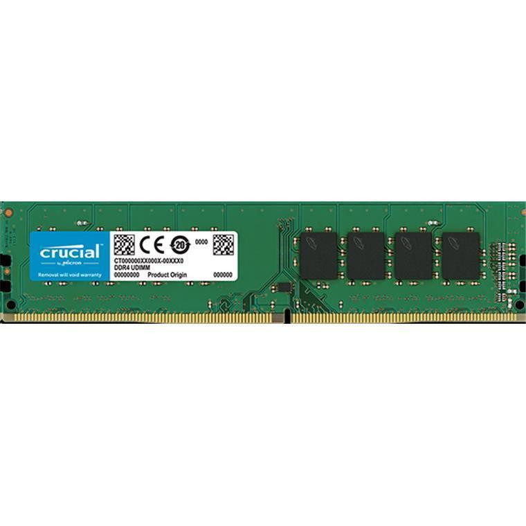Crucial 8GB DESKTOP DDR4 2400 MT/s (PC4-19200) CL17 SR x8 Unbuffered DIMM 288pin DDR4 Platform ONLY