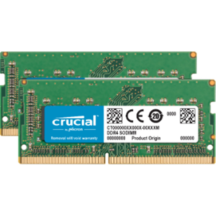 Crucial 32GB kit (16GBx2) DDR4 2400 MT/s (PC4-19200) CL17 SODIMM 260pin 1.2 V for 2017 27 inch iMac