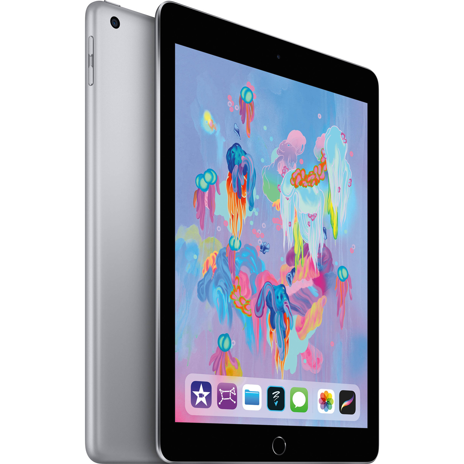 "Apple iPad 9.7"" (6th Gen. 2018) Tablet 32GB WiFi - Space Grey"