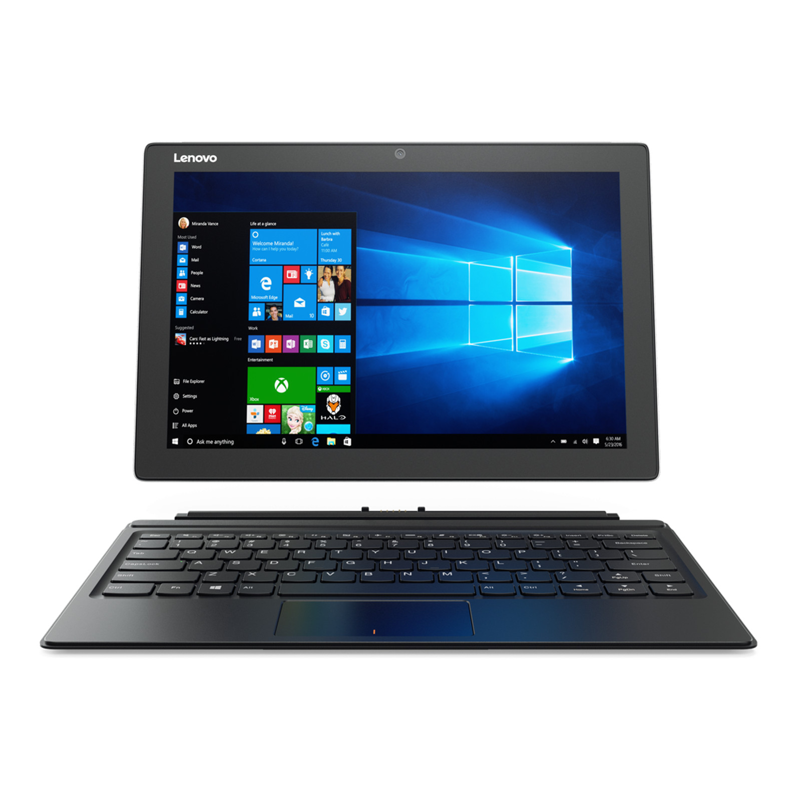 Lenovo Miix 510 4G/LTE Premium Business 2-in-1 Tablet 12.2