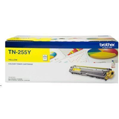 Brother Toner TN255Y Yellow (2200 Pages)
