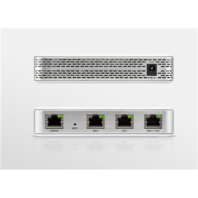 Ubiquiti UniFi Security Gateway USG, Enterprise Gateway Router with 3 x Gigabit RJ45 Advanced FireWall, VLAN, VPN, Radius Server